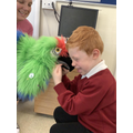 Getting to know the class puppets