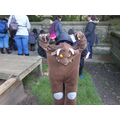 Who's holding the Gruffalo?