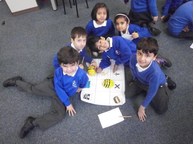 Using the Beebots