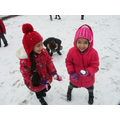 Wintry fun together