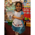 Having fun on World Book Day