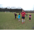 Mr Walton running with year three.