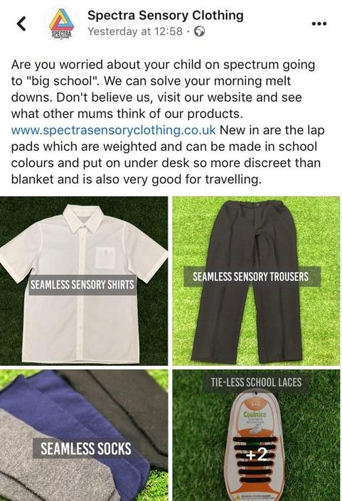 Sensory Aware - seamless uniform for children