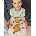 Baking Gerald the Giraffe Biscuits