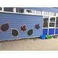 Chalkboards great for writing outside