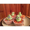 Roisin's Christmas Cupcakes