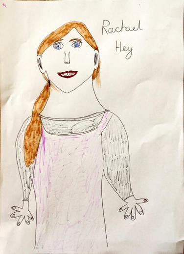 Self-portraiy by Rachael
