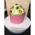 Emily's Giant Cupcake