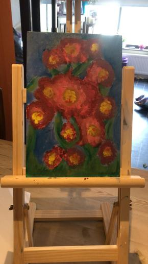 Bethany's painting
