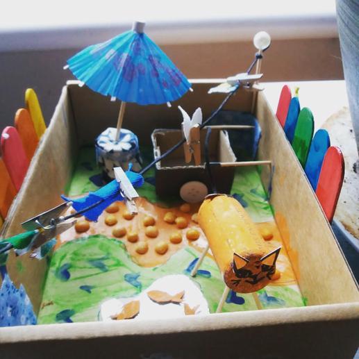 Rowan's garden model