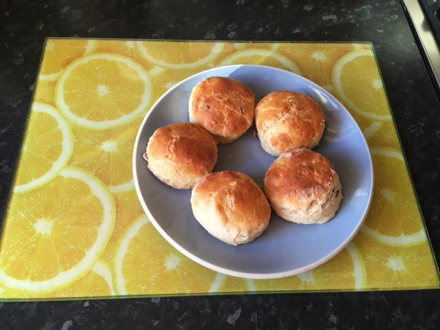 Wonderful looking scones Lottie!