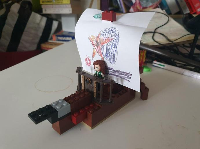 Sophie's Viking Longship