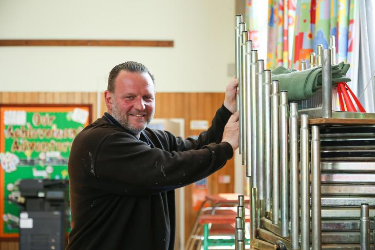 Mr Paul Plaskitt - Site Manager