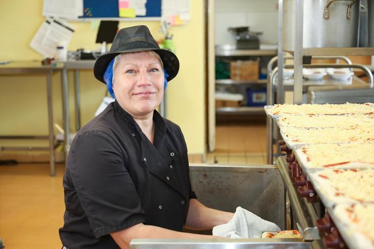 Mrs Sue Goodman - School Chef