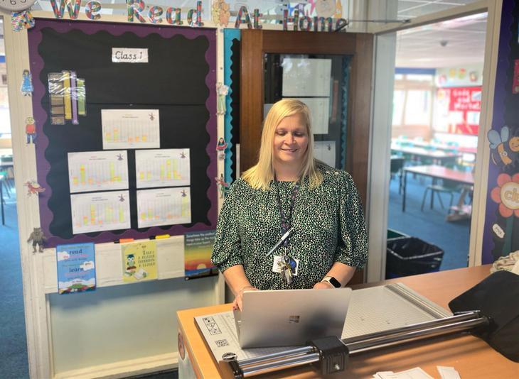 Mrs Carol Smith - Teaching Assistant