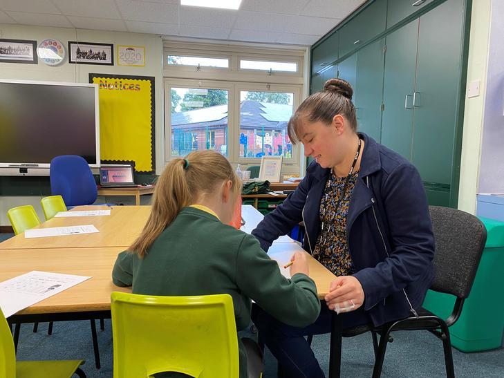 Mrs Liz Emsom - Teaching Assistant