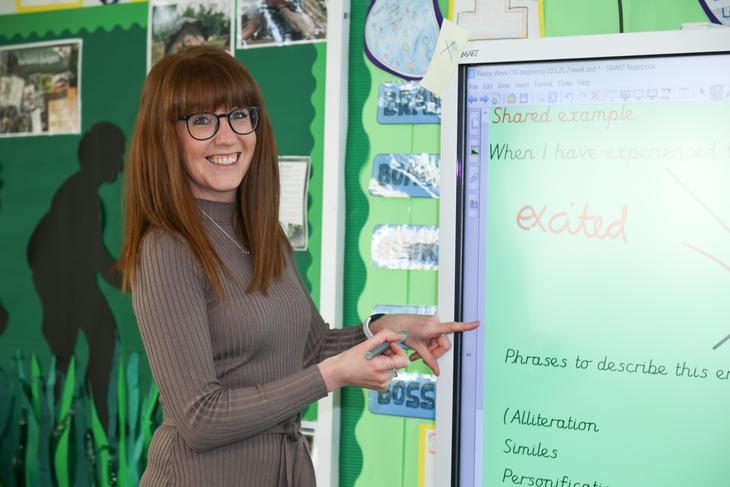 Miss Claire Hill - Class Teacher