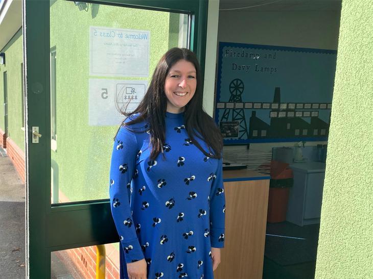 Mrs Lisa Adams - Class Teacher