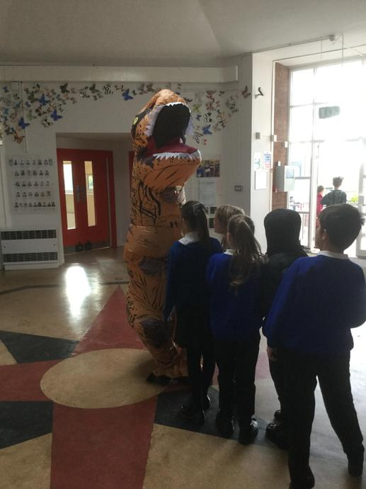 Year 6 Dinosaur Day