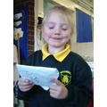 We can write letters and address the envelopes.