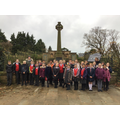 Year 5 explored the impact of the Great War on Broughton by searching the graveyard for so