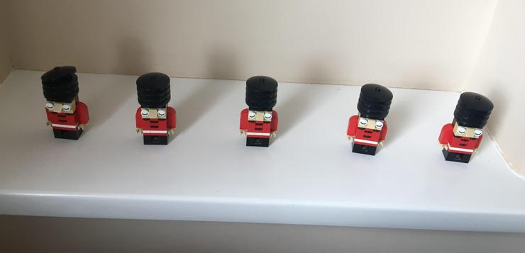How many lego soldiers? (Estimate then count.)