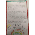 Lovely writing by Carys