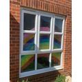 Joey's wonderful rainbow window