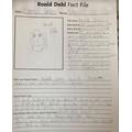 Leo's factfile about Roald Dahl