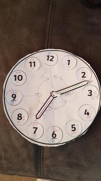 Abigail's clock