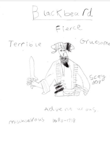 Sarah's pirate