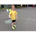 Tennis keepy-ups