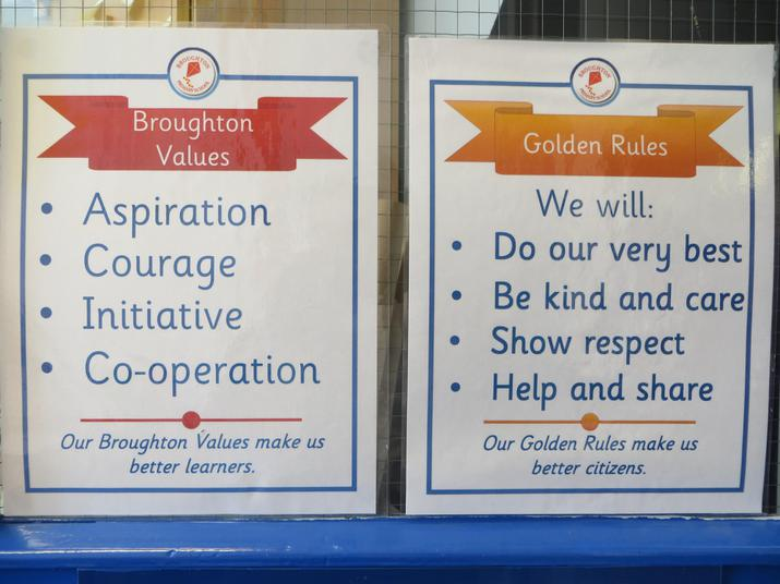 Broughton's Values and Golden Rules.