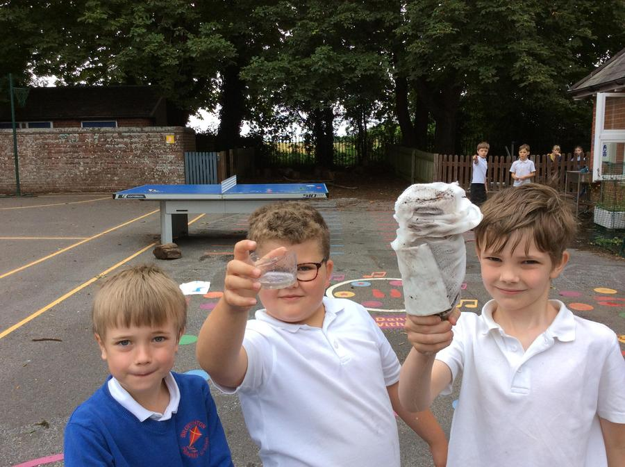 Some of our Outdoor Learning