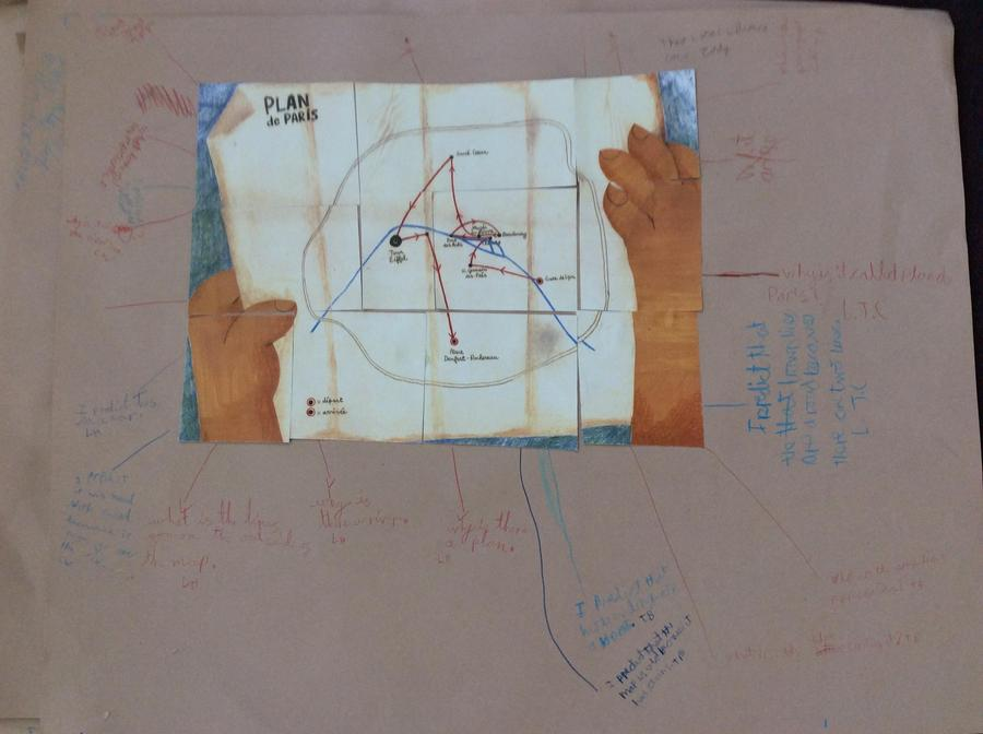 The lion's map and some of our ideas