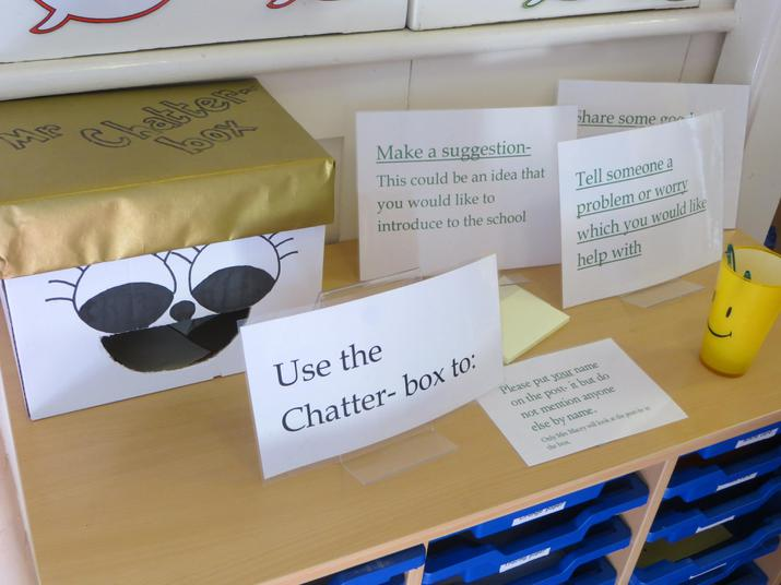 Children can share their thoughts and ideas.