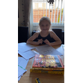 Holly doing some fantastic writing