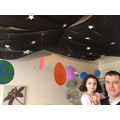 Keira's space themed birthday