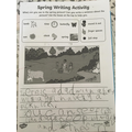 Charlie wrote about a Spring picture
