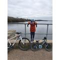 Alfie's bike ride