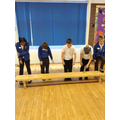 We experienced some Victorian punishments.