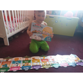 Billy completed his jigsaw.  Well done!