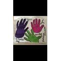 Enya's hand sculpture