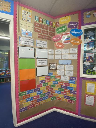 Our English Working Wall