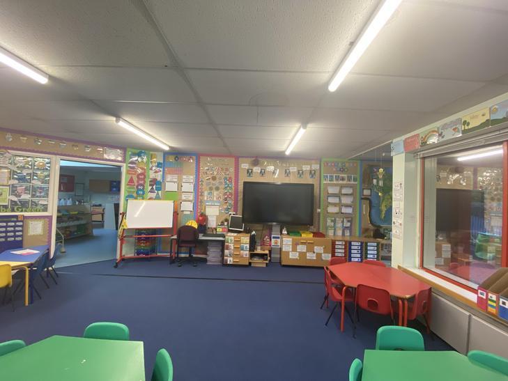Our classroom (angle 1)
