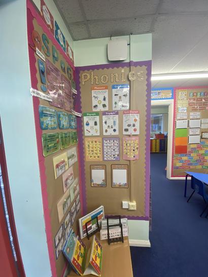 Our Phonics display