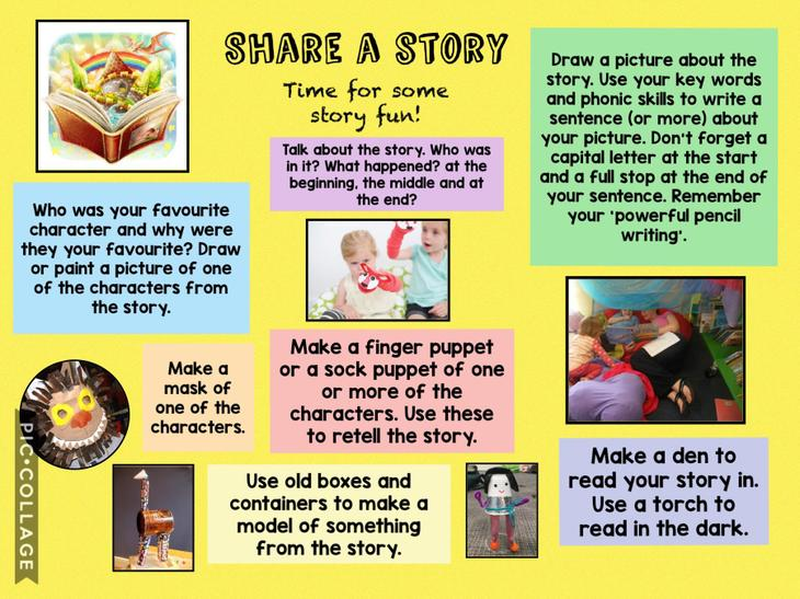Share a story and have some story fun!