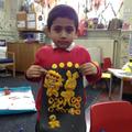 We made Beegu from playdough!