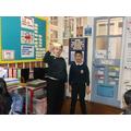 The children had fun investigating air resistance.