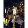 Wow an astronaunt!